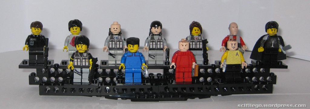 My best Lego minifigures. I'm hoping to make some more B5 ones soon