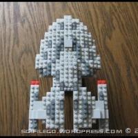 Repost of Star Trek Ships made with Mega Bloks Set