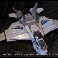 New set of photos of the Avengers Quinjet V3.0!