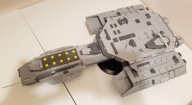 Stargate LEGO ship Daedalus