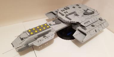 LEGO ship USS Daedalus