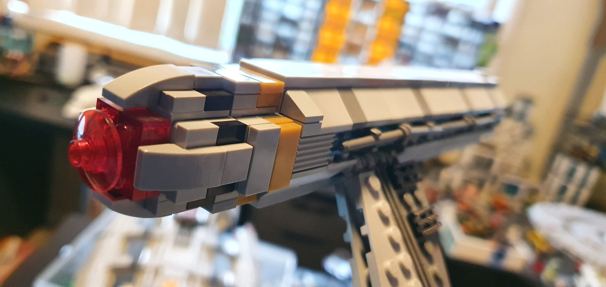 LEGO Enterprise NX-01 Warp Nacelle Close up