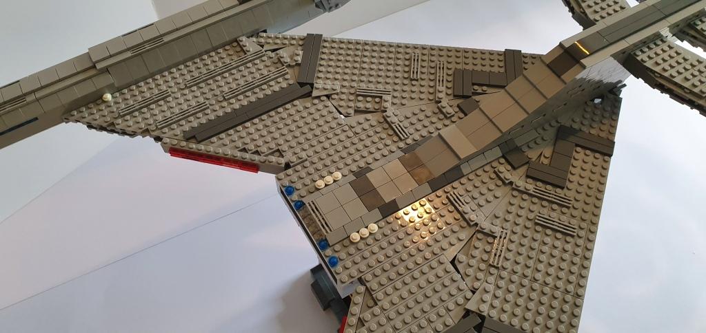 LEGO Star Trek USS Discovery Star drive