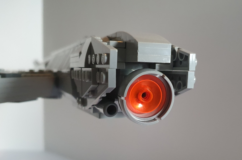 LEGO Star Trek USS Discovery warp nacelle