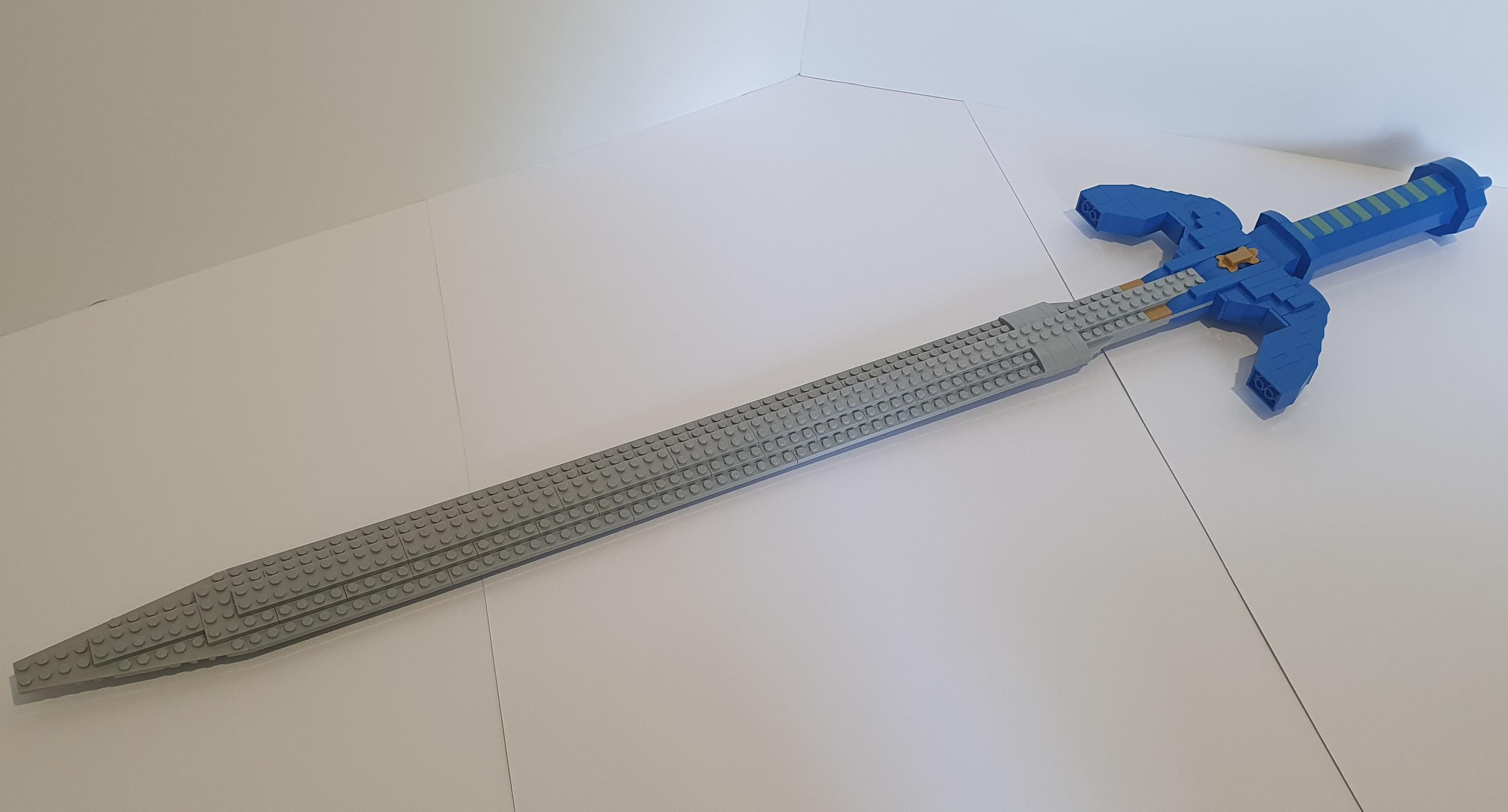 Lego legends of zelda master sword