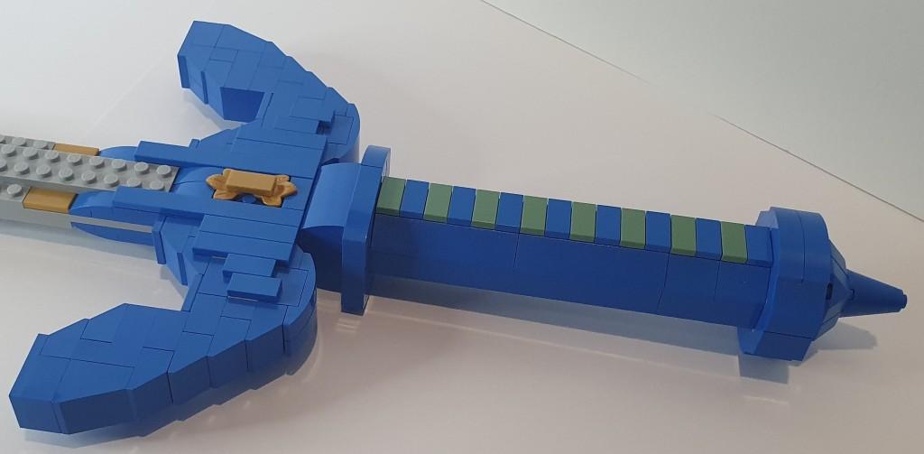 LEGO Zelda Master Sword close up