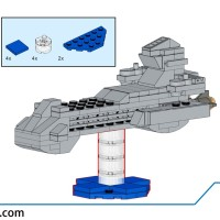 Stargate - USS Prometheus (Mini)