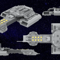 "Stargate - USS Daedalus (36cm/14"")"