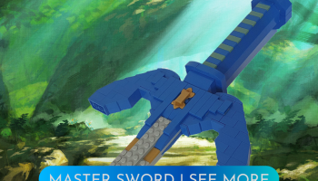 LEGO Legend of Zelda Master Sword