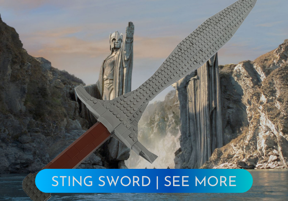 LEGO Lord of the rings sting sword