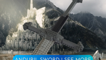 LEGO Lord of the rings anduril sword