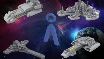 LEGO Stargate Building Instructions