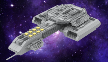 LEGO Stargate Atlantis Daedalus