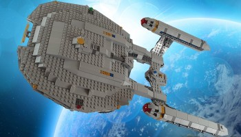 LEGO Star Trek Enterprise NX-01