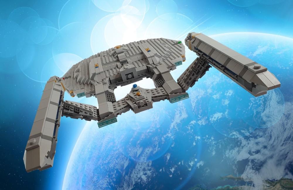 LEGO Star Trek Enterprise NX-01