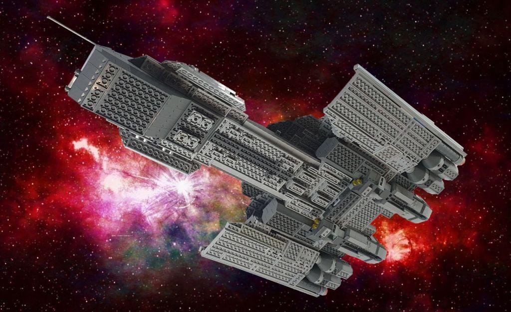 LEGO Stargate Atlantis USS Daedalus