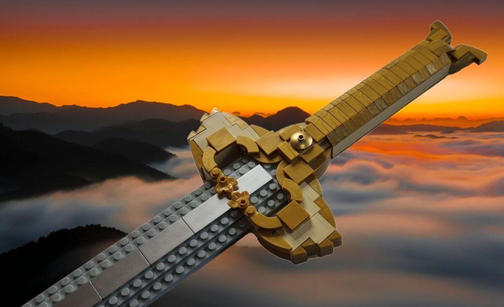 LEGO DC Justice League Wonderwoman Godkiller Sword