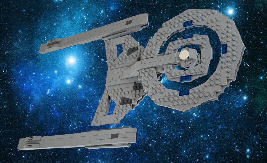 LEGO Star Trek Discovery USS Discovery A Refit