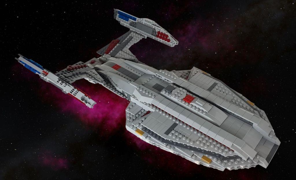 LEGO Star Trek Picard USS Zheng He