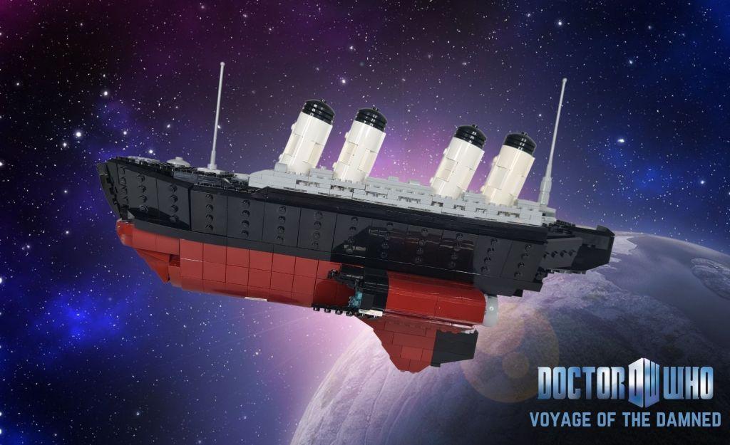 LEGO Doctor Who Titanic